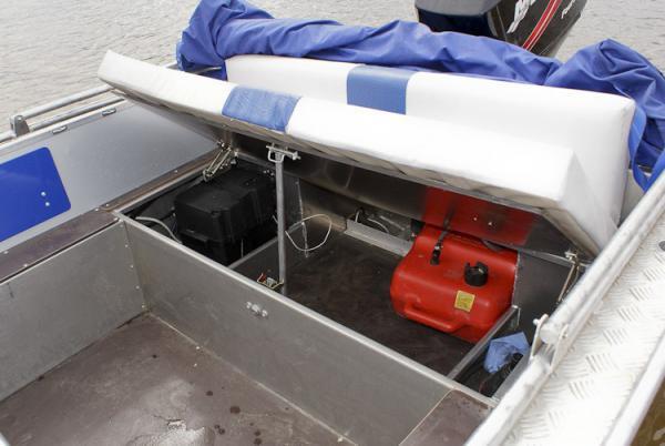 Тюнинг лодки салют 480 своими руками 21