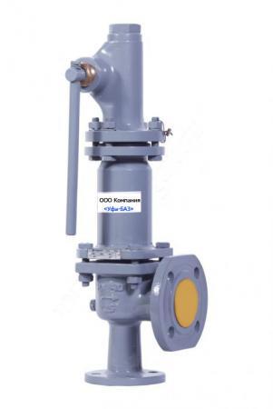 Клапан предохранительный СППК 80-160-02