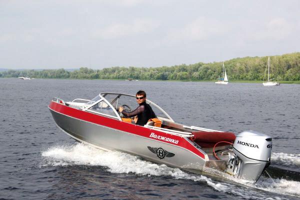 волжанка 460 лодка