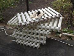 Сдать чугунные батареи на металлолом (прием ванн, лом радиаторов отопления).