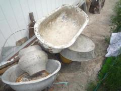 Демонтаж с последующим вывозом старой сантехники на металлолом: трубы, раковины, ванны и т.д.